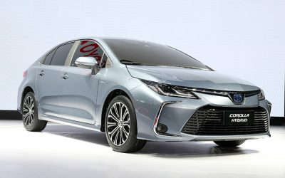 Have a glimpse of the new Toyota Corolla