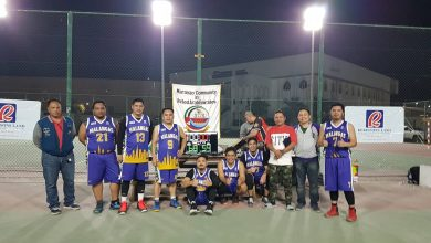 Photo of Maranao community holds basketball tourney