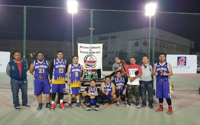 Maranao community holds basketball tourney