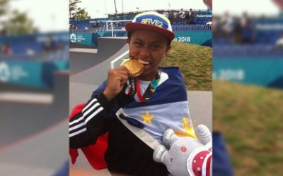 Pinay skateboarder and gold medalist Margielyn Didal listed on TIME's most influential teens
