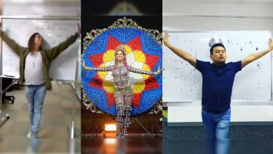 Photo of WATCH: Netizens come up with parodies of Catriona Gray's national costume