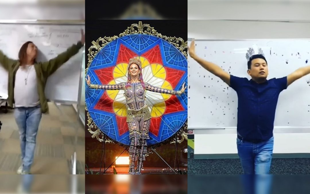 WATCH: Netizens come up with parodies of Catriona Gray's national costume