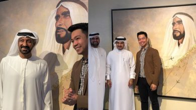 Photo of OFW's masterpiece for 'Year of Zayed' to be permanently displayed at Emirates HQ