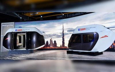 LOOK: Futuristic transport modes in Dubai unveiled
