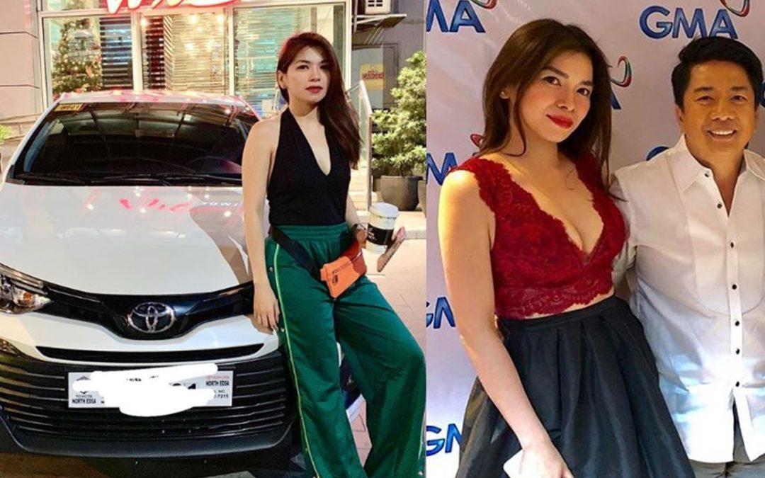 Ex-Sexbomb dancer Sugar Mercado receives car from Willie Revillame