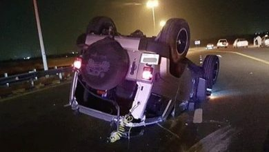 Photo of Four injured in Umm Al Quwain car collision