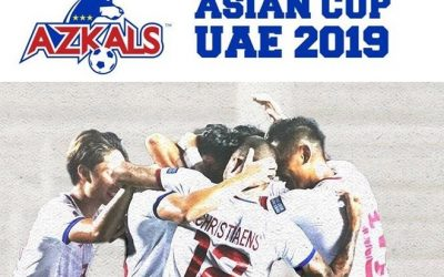 FULL SCHEDULE: Philippines' Azkals matches for AFC Asian Cup 2019 Group Stages
