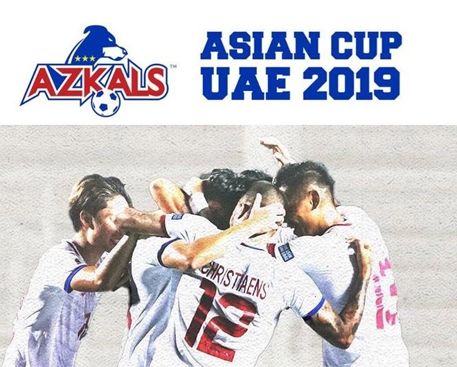 Pinoy Azkals fans to meet up to watch Azkals' first AFC Asian Cup game