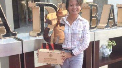 Photo of Filipina teacher receives int'l award in Dubai