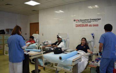 APO-ADAA, AUFWWAAD, PICE-UAE, lead blood donation drive in Abu Dhabi