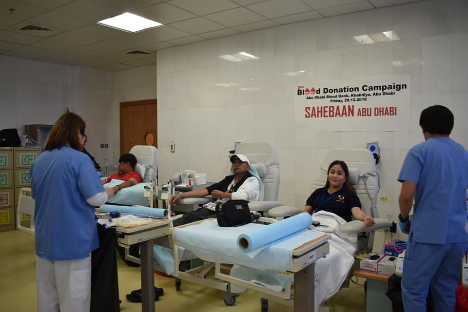 APO-ADAA, AUFWWAAD, PICE-UAE, lead blood donation drive in Abu Dhabi