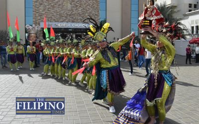 WATCH: Filipinos showcase the colourful ,fun-filled festivities of Sinulog to the UAE