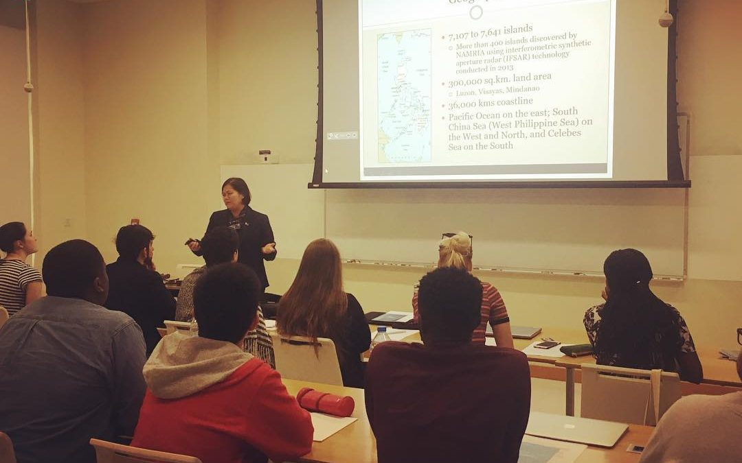 NYU students on Global Education Study get valuable insights from PH Embassy