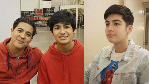 LOOK: Aga Muhlach, Charlene Gonzales' son Andres is a matinee idol in the making