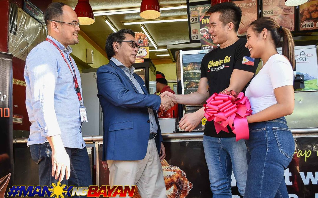 UP Maroons' Paul Desiderio receives own franchise of Chooks-to-Go