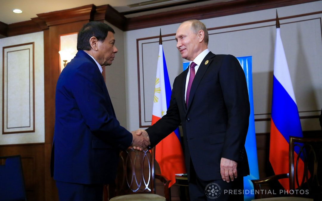 Duterte finds powerful ally in Putin to bolster PH's war vs. terrorism after twin blasts in Jolo