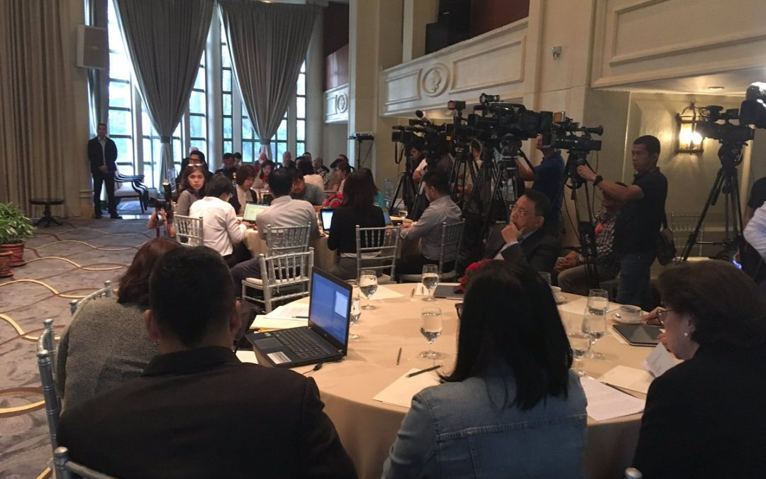 Int'l, local journalists gather to discuss pressing PH gov't issues