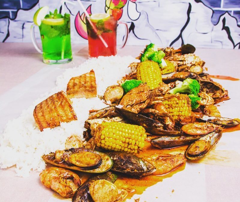 Savor Pinoy Dampa's 'Sha-BANG' of Filipino seafood flavors