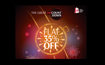 Final Chance! Flat 35% at The Watch House's 'The Great DisCountdown'!