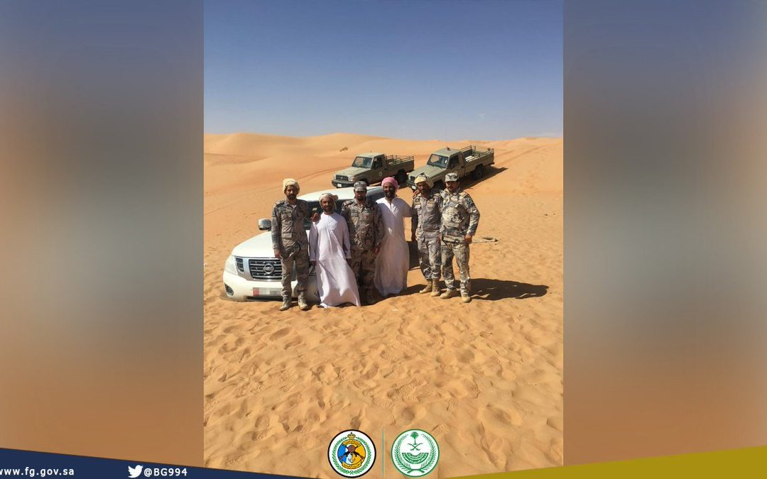 Two men found after getting lost for five days in Saudi desert