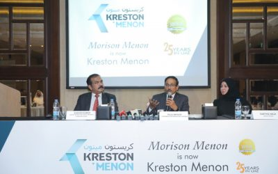 Morison Menon strategically integrates with Kreston International; rebrands as Kreston Menon