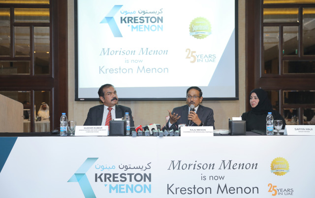 Morison Menon strategically integrates with Kreston International; rebrands as Kreston Menon