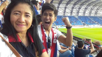 Photo of OFW mother brings son to Dubai so he can watch Azkals game
