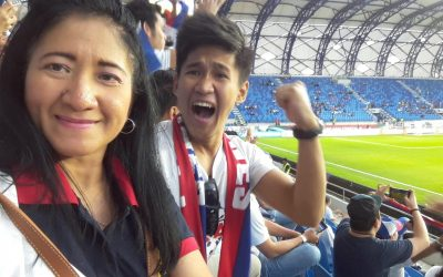 OFW mother brings son to Dubai so he can watch Azkals game
