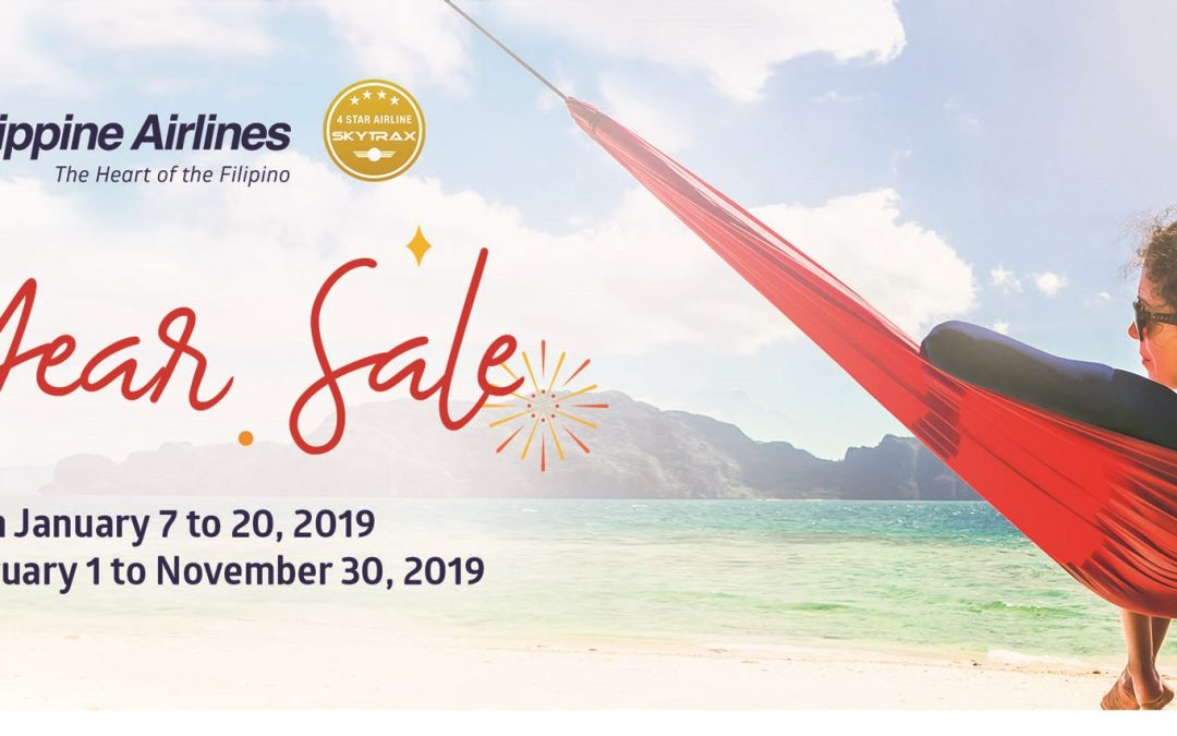 Turn your 2019 Travel Goals to reality with Philippine Airlines' New Year Sale