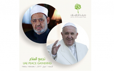 Ministry of Culture and Knowledge Development to hold UAE Peace Gathering as part of Papal Visit celebrations