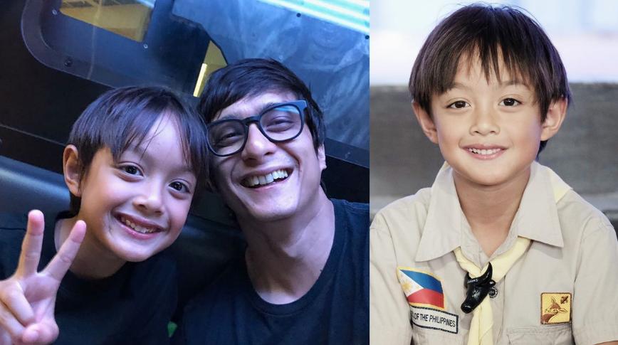 LOOK: Photos that prove Ryan Agoncillo, Judy Ann Santos' son Lucho is a future heartthrob