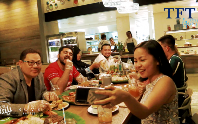 Enjoy Filipino flavors at The Daily at the Rove Trade Center's Classic Boodle Fight!