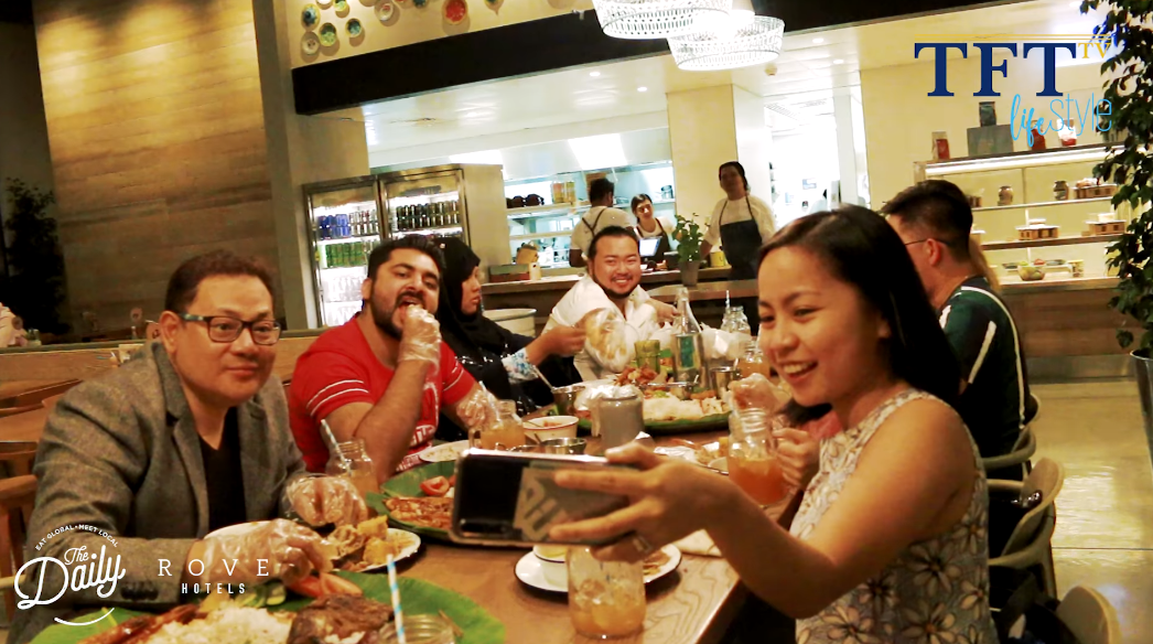 Enjoy Filipino flavors at The Daily at the Rove Trade Centre's Classic Boodle Fight!