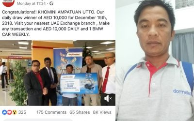 Remittance company promo winner plans to expand farm in PH