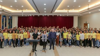 Photo of Majority of Papal Choir members are Filipinos