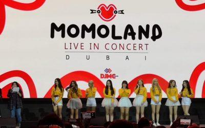 Kpop group Momoland thrills Dubai