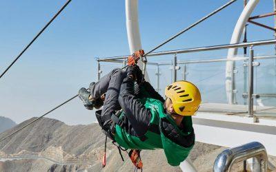 World's longest zipline in Ras Al Khaimah to re-open soon