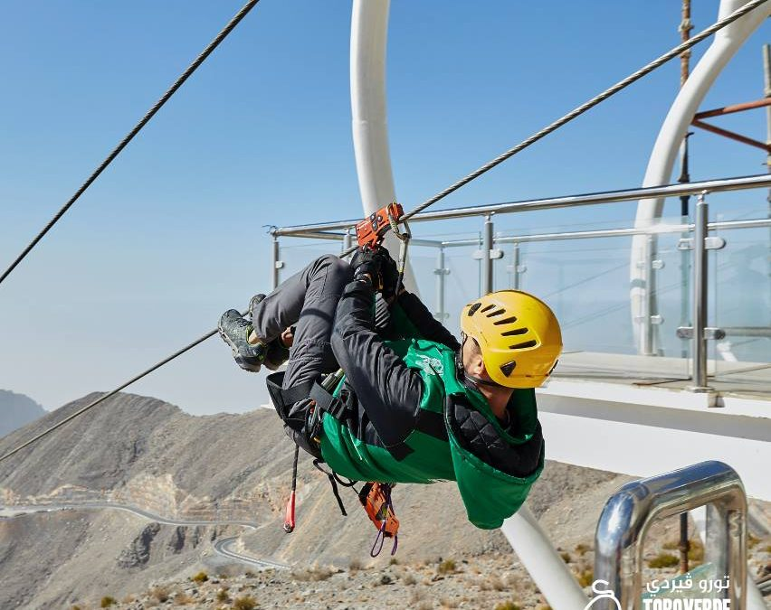 World's longest zipline in Ras Al Khaimah to re-open soon