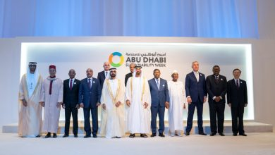 Photo of Mohammed bin Rashid, Mohamed bin Zayed attend opening of ADSW