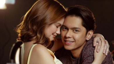 Photo of Angelica Panganiban reacts on Carlo Aquino now having a baby