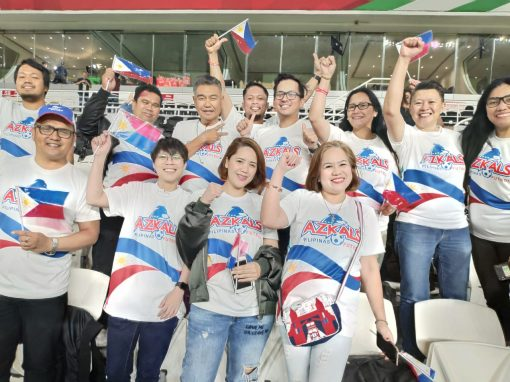 Azkals continues to take inspiration from OFWs in UAE