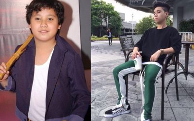 """Former """"Goin' Bulilit"""" star now runs his own clothing brand"""