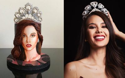 LOOK: Pastry chef in New York creates realistic Catriona Gray-inspired cake