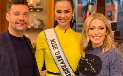 WATCH: Catriona Gray shows off her contagious smile, eloquence in US TV interviews