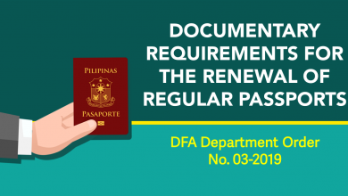 Photo of Birth Certificates not required for Passport Renewal – DFA