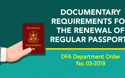 Birth Certificates not required for Passport Renewal – DFA