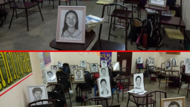 Photo of LOOK: Teacher draws portraits of students for Christmas