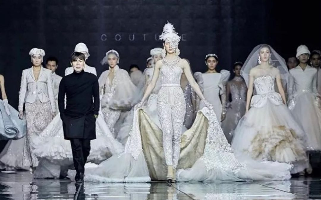 Ezra Couture stages jaw-dropping couture collection at 2019 Harbin Fashion Week