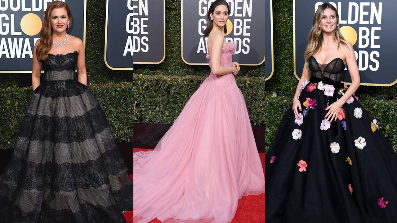 Look 8 Hollywood Celebs Wore This Filipino Designer S Creations To The Golden Globes The Filipino Times