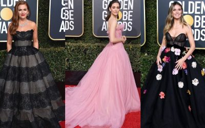 LOOK: 8 Hollywood celebs wore this Filipino designer's creations to the Golden Globes